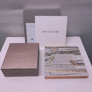 Bulgari Jewel Box Set With Book